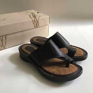 BOC Born Concepts 7 Bria Wedge Toe Thong Sandals